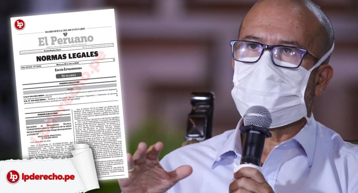 Lineamientos para a vigilancia de la salud de los trabajadores con riesgo de exposición a COVID-19