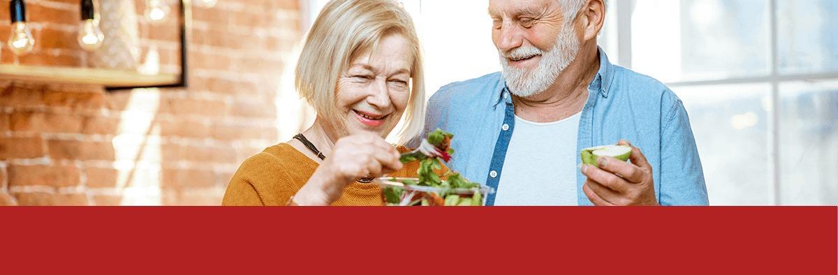 Alimentación para una persona Adulta Mayor